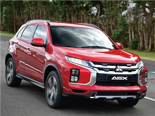 Mitsubishi ASX - Mitsubishi ASX 2020 вид спереди