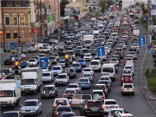 Московские власти предупредили о пятничных пробках