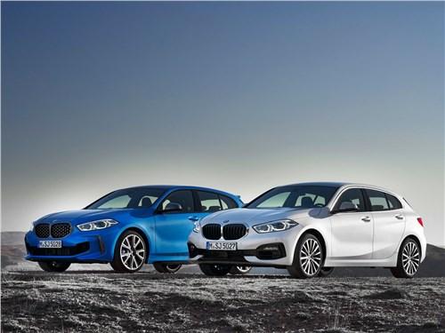 BMW 1-Series 2020 вид спереди
