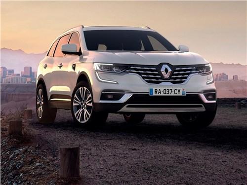 Hyundai Santa Fe и Renault Koleos: внешность имеет значение Koleos - Renault Koleos 2020 вид спереди