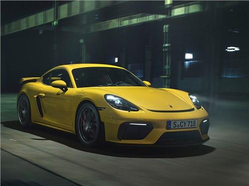 Новость про Porsche 718 Cayman - Porsche 718 Cayman GT4 2020