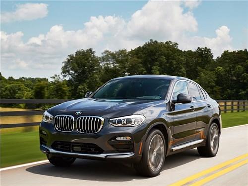BMW X4 2019 вид спереди