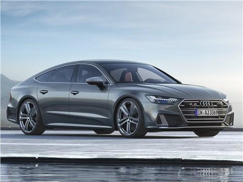 Audi S7 Sportback TDI 2020 вид спереди