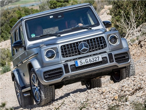 Mercedes-Benz G-Class AMG - Mercedes-Benz G63 AMG 2019 вид спереди