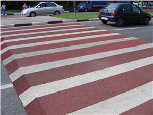 Пешеходные переходы будут выше дорожного полотна