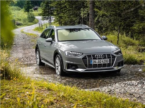 Audi A4 allroad quattro - Audi A4 allroad quattro 2020 вид спереди