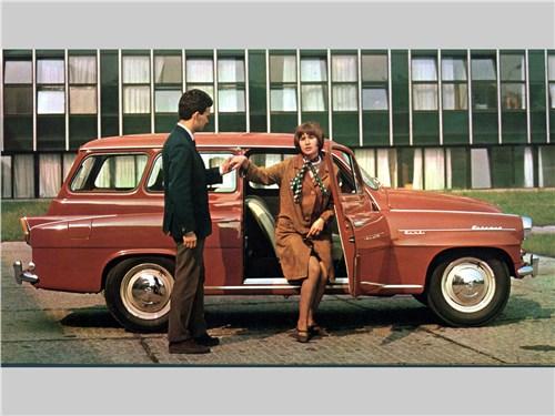 Универсал Octavia Combi был столь популярен, что простоял на конвейере более десяти лет