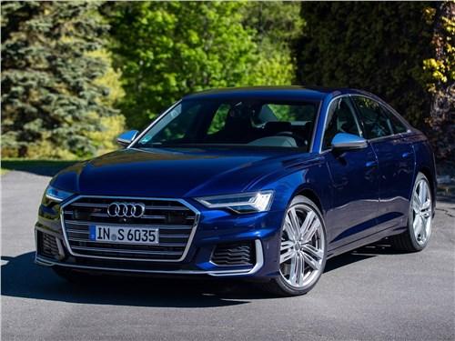 Audi S6 - Audi S6 Sedan TDI 2020 вид спереди