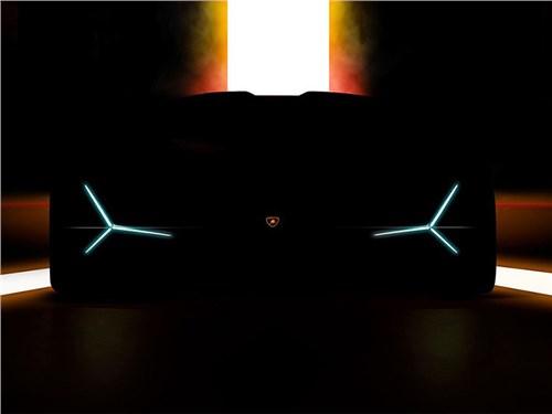Lamborghini привезет во Франкфурт новый гиперкар