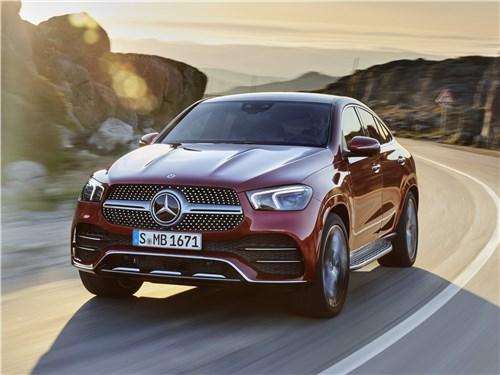 Mercedes-Benz GLE Coupe - Mercedes-Benz GLE Coupe 2020 вид спереди