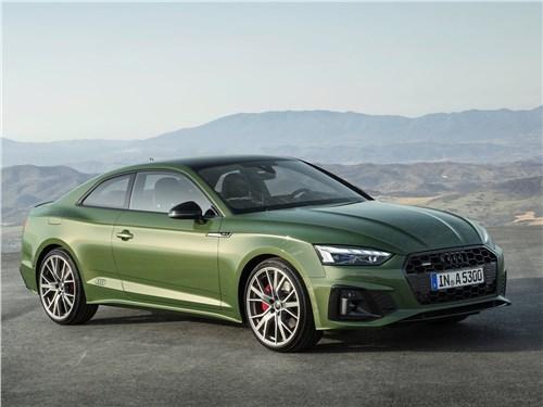 Вызывающий зависимость Audi А5 Coupe A5 - Audi A5 Coupe 2020 вид спереди