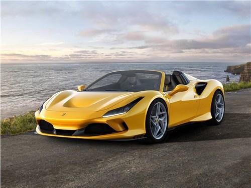 Ferrari F8 Spider 2020 вид спереди