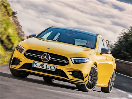 Mercedes-Benz A35 AMG 4Matic 2019 вид спереди