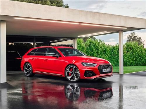 Audi RS4 Avant 2020 вид спереди