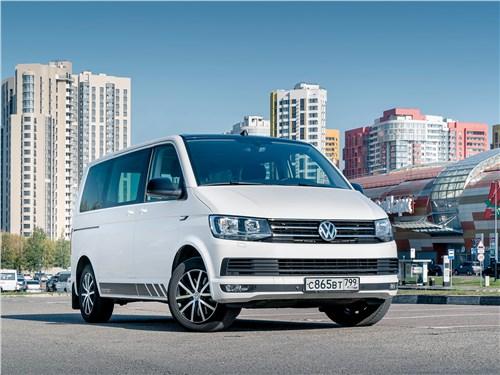 Volkswagen Caravelle 2015 вид спереди