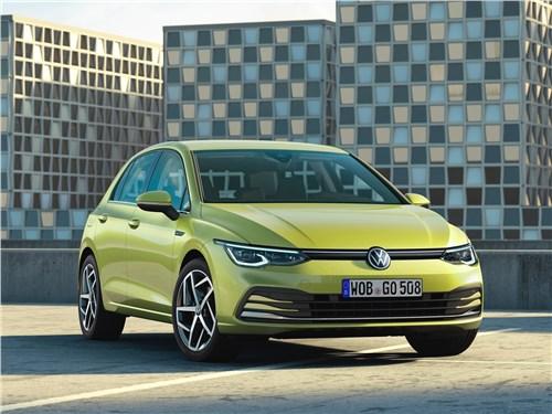 Охота на лидера Golf - Volkswagen Golf 2020 вид спереди