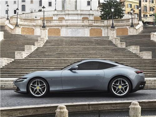 Ferrari Roma 2020 вид сбоку
