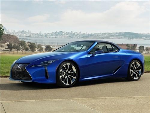 Lexus LC - Lexus LC 500 Convertible 2021 вид спереди