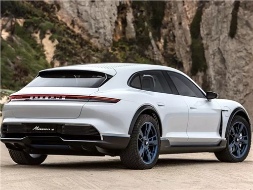 Porsche разрабатывает четырёхмоторный кроссовер