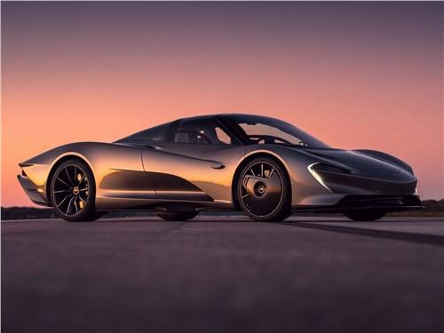 McLaren Speedtail - McLaren Speedtail 2020 вид спереди