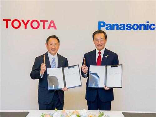 Toyota и Panasonic вместе займутся разработкой батарей для электромобилей