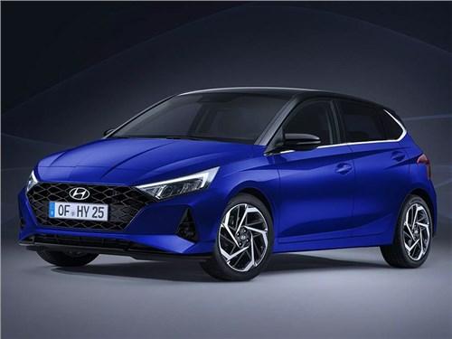 Hyundai I20: внешность раскрыта