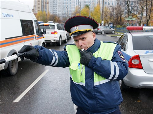 Водителей стали больше наказывать