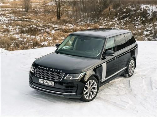 Range Rover LWB 2014 вид спереди