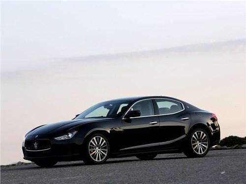 Продажи Maserati на российском рынке сократились на 42 процента