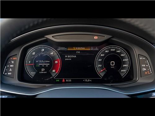 Audi Q7 2020 приборная панель