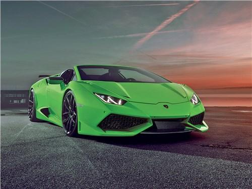 Novitec | Lamborghini Huracan Spyder вид спереди