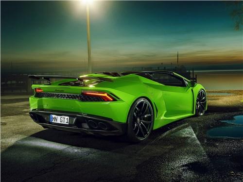 Novitec | Lamborghini Huracan Spyder вид сзади