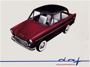 DAF 600 - машина, сделавшая CVT коммерчески успешным