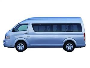 Toyota Hiace - Toyota Hiace вид сбоку