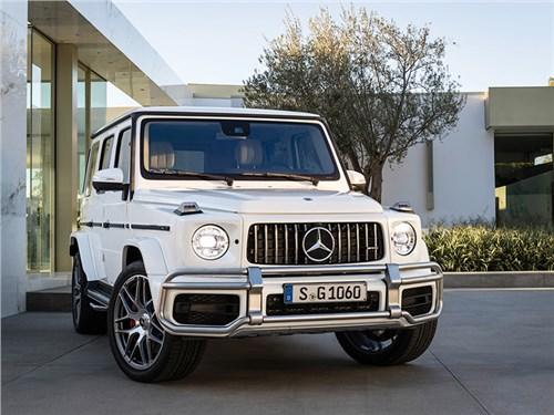 Новость про Mercedes-Benz G-Class AMG - Mercedes-AMG G63