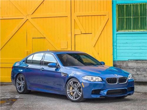Новость про BMW M5 - В «заряженном» BMW M5 появится кнопка отключения полного привода