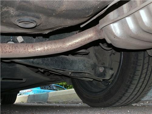 Kia Optima GT-Line 2016 задняя подвеска
