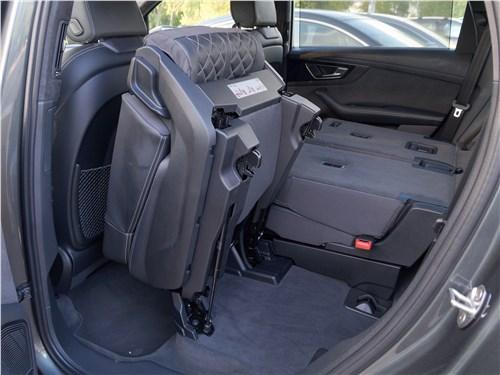 Audi Q7 S-Line 2016 задний диван