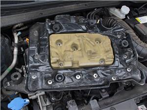 Kia Sportage 2014 слой шумоизоляции