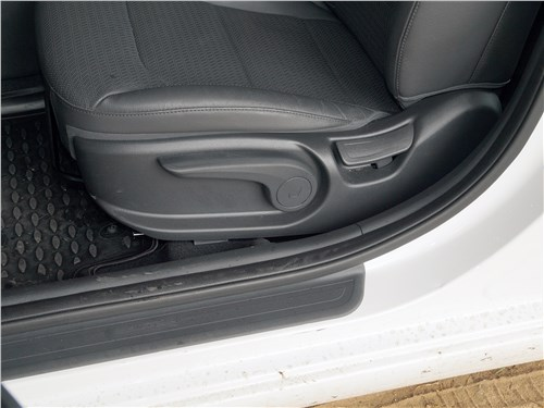 Hyundai Elantra 2019 передние кресла