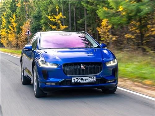 Jaguar I-PACE 2019 вид спереди