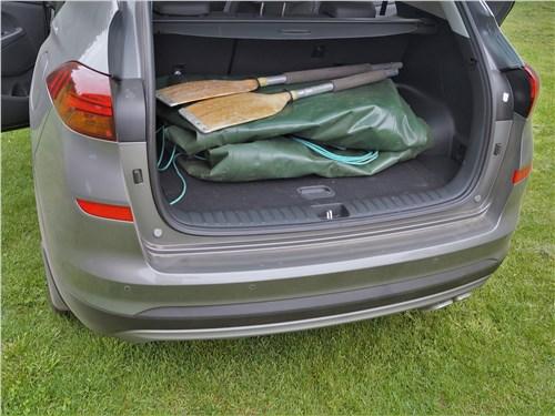 Hyundai Tucson 2019 багажное отделение