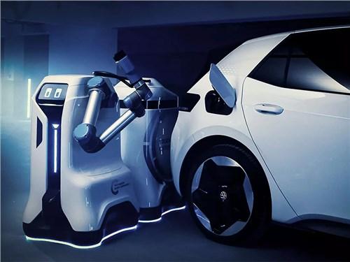 Новость про Volkswagen - Volkswagen создает империю роботов