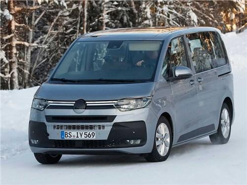 Новость про Volkswagen Multivan - Новому Volkswagen Multivan изменят ДНК