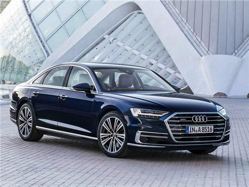 Audi A8 готовится к операции по увеличению мощности