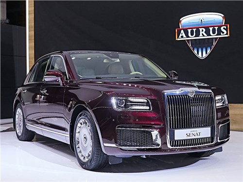 Оказывается, у автомобилей Aurus есть внедорожный потенциал