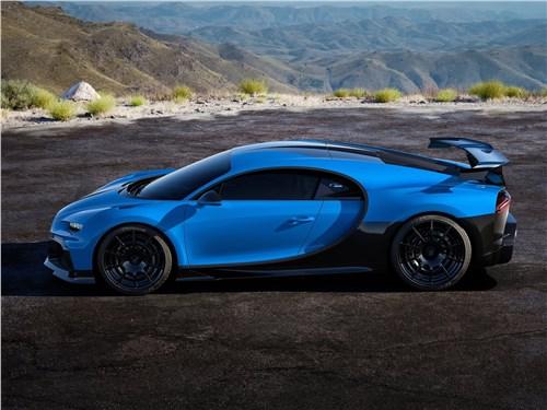 Bugatti Chiron Pur Sport (2021) вид сбоку