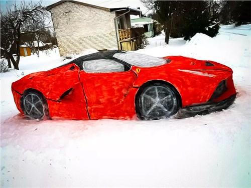 Хочешь Ferrari – зима тебе поможет!