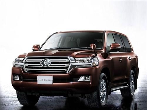 Новый Toyota Land Cruiser: отсчет пошел