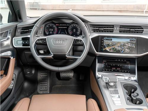 Audi A6 45 TDI (2020) салон